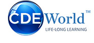 CDEWorld Continuing Dental Education Mobile Logo
